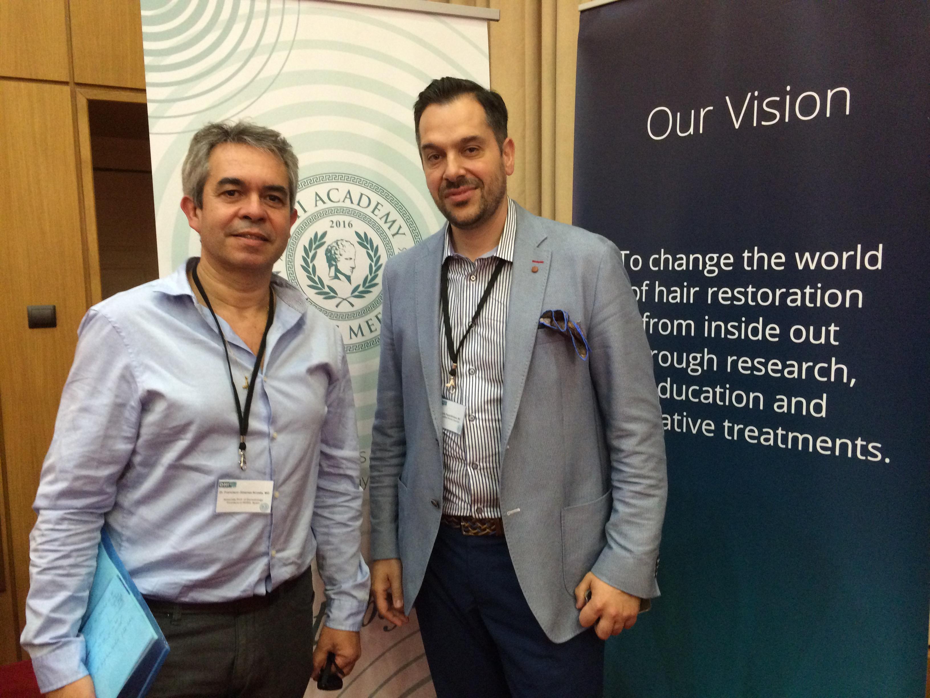 El Dr. Jiménez Acosta, conferenciante invitado del Master Meeting DHI en Atenas