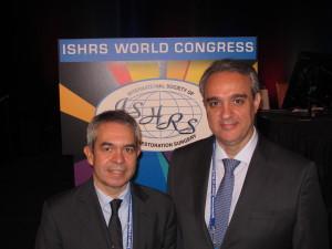El Dr. Jiménez Acosta imparte conferencias en el 24 Congreso Mundial de Trasplante de Pelo (ISHRS) en Las Vegas