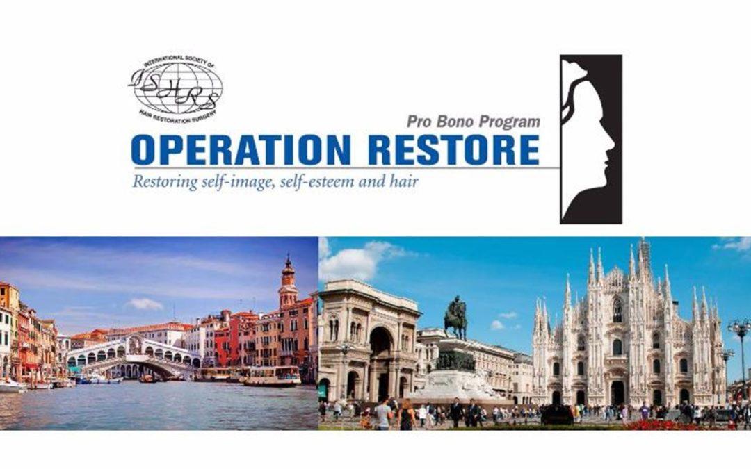 """El Dr. Jiménez participó en la ruta ciclista de 400 Kms de Venecia a Milán para recaudar fondos en el Programa de """"Cirugía de Restauración"""" de la ISHRS"""