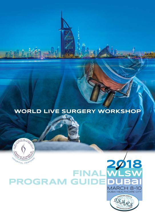 """El Dr. Jimenez Acosta participa en Dubai en el Congreso """"World Live Surgery Workshop"""" de la ISHRS"""