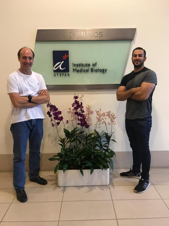 El Dr. Majid Alam gana una beca para realizar una estancia en un Laboratorio en Singapur